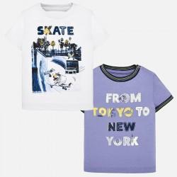 Bluzka Mayoral 1028-17 Zestaw koszulek z krótkim rękawem dla chłopca Baby