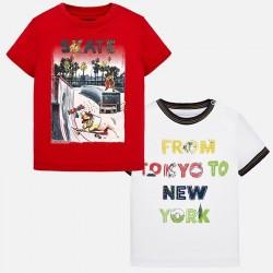 Bluzka Mayoral 1028-18 Zestaw koszulek z krótkim rękawem dla chłopca Baby