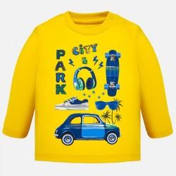 Bluzka Mayoral 1032-62 Koszulka z długim rękawem i nadrukami dla chłopca Baby