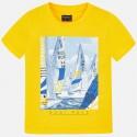 Bluzka Mayoral 6032-55 Koszulka z krótkim rękawem z nadrukiem dla chłopca