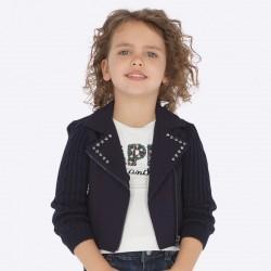 Kurtka Mayoral 4407-07 z ozdobami dla dziewczynki