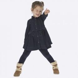 Spodnie Mayoral 4702-73 Leginsy aksamitne dla dziewczynki