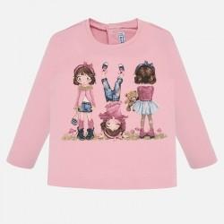 Bluzka Mayoral 2010-84 Koszulka z długim rękawem dla dziewczynki Baby