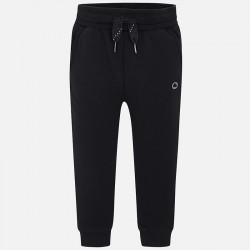 Spodnie Mayoral 725-72 dresowe czarne wiązane w pasie model jesienno zimowy trochę grubszy materiał