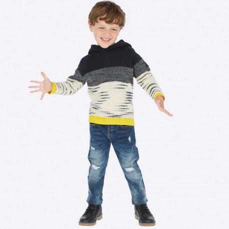 Spodnie Mayoral 4520-23 dżinsowe fit dla chłopca