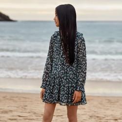 Sukienka z wzorzystej gazy Mayoral 7931-77