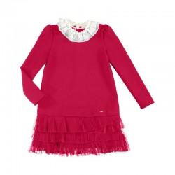 Sukienka dzianina z łączeniami Mayoral 7923-46