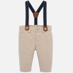 Długie spodnie Mayoral 2517-11 z szelkami dla chłopca