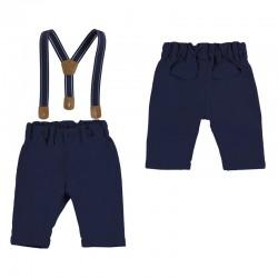 Długie spodnie Mayoral 2517-12 z szelkami dla chłopca