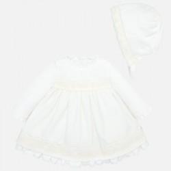 Sukienka z czapeczką Mayoral 2813-74