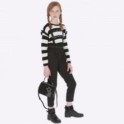 Spodnie długie Mayoral 7506-02 z szelkami