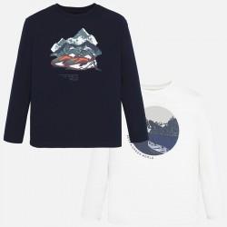 Bluzki Mayoral 7037-87 Zestaw 2szt koszulek