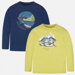Bluzki Mayoral 7037-85 Zestaw 2szt koszulek