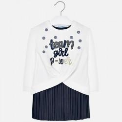 Sukienka i bluza Mayoral 4941-77 dla dziewczynki