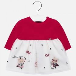 Sukienka Mayoral 2408-92 tiul dla dziewczynki