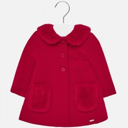 Płaszcz Mayoral 2426-92 z dzianiny