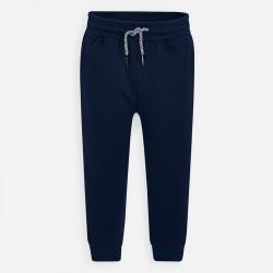 Spodnie Mayoral 742-27 dresowe wiązane w pasie model wiosenno letni cieńszy materiał