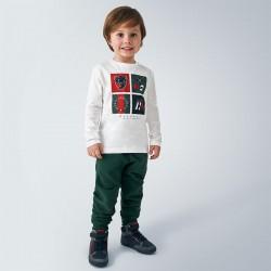 Spodnie Mayoral 725-78 dresowe wiązane w pasie model jesienno zimowy trochę grubszy materiał