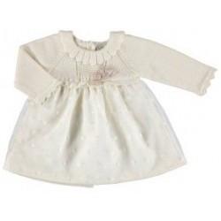 Sukienka Mayoral 2855 kolor 024 kremowy