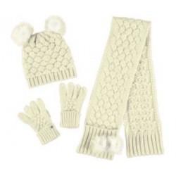 Komplet czapka, szalik, rękawiczki Mayoral 10859 kolor 68 r1, 2