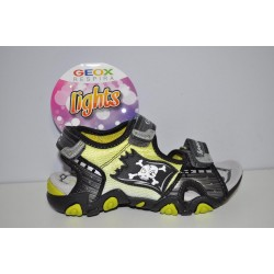 Sandały Geox Pirat J5224D r27-35 kolor C0666 świecące + tatuaże gratis