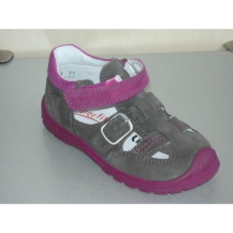 Zabudowane sandały Superfit 6-430-06 Softtippo r23-28