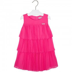 Sukienka z falbankami plisowana Mayoral 3972 kolor 041
