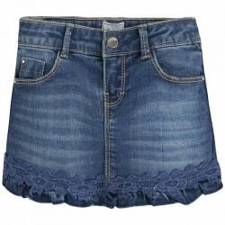 Spódnica jeans z koronką Mayoral 3914 kolor 005