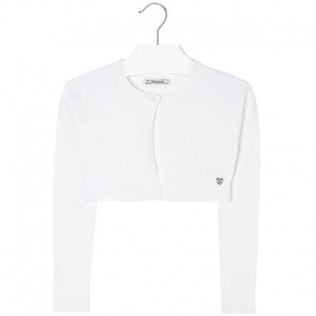 Mayoral Sweter biały 332 kolor 063