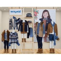 Mayoral zestaw dziewczęcy brązowy kolekcja jesień zima 2016 r92-134