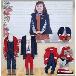 Mayoral zestaw czerwony dziewczęcy kolekcja BABY jesień zima 2016 2017 r62-92