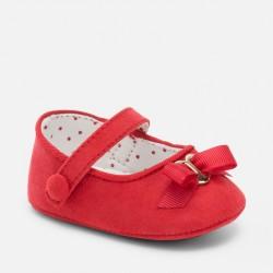 Mayoral Balerinki karminowe buty niemowlęce 9366 -45