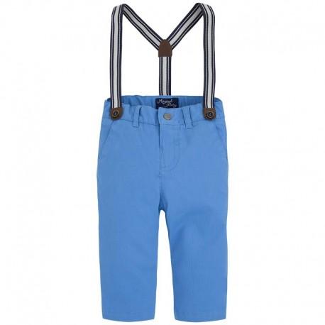 Spodnie chłopięce z szelkami Mayoral 1523 kolor 014