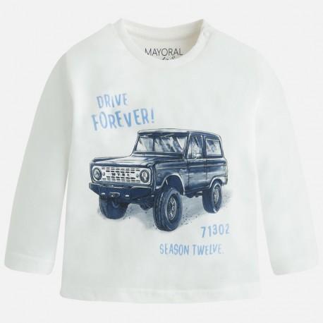 Mayoral bluzka z samochodem 2038 -52