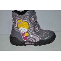 Buty zimowe świecące Geox GULP oddychające B6404B r23-27