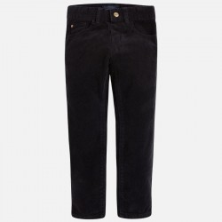 Mayoral spodnie sztruks slim fit basic 537 63