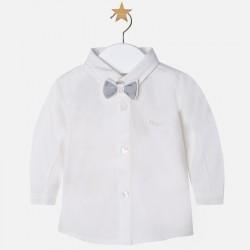 Mayoral kremowa koszula z muszką 2102 -79