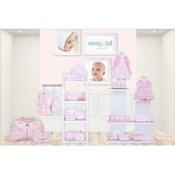 Mayoral wiosna lato 2017 zestaw pink dziewczęcy kolekcja NEWBORN r50-80