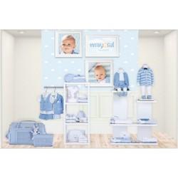 Mayoral wiosna lato 2017 zestaw blue chłopięcy kolekcja NEWBORN r50-80