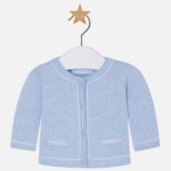 Mayoral sweterek rozpinany błękitny 1301 38