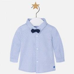 Mayoral koszula z muszką 1119 31 niebieska