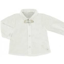 Mayoral koszula z muszką 1119 32 kremowa
