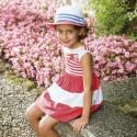 Sukienka kwiaty Mayoral 3955 kolor 066 r98,128